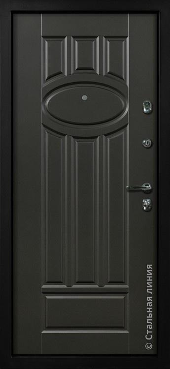 дверь железная антивандальная сходня