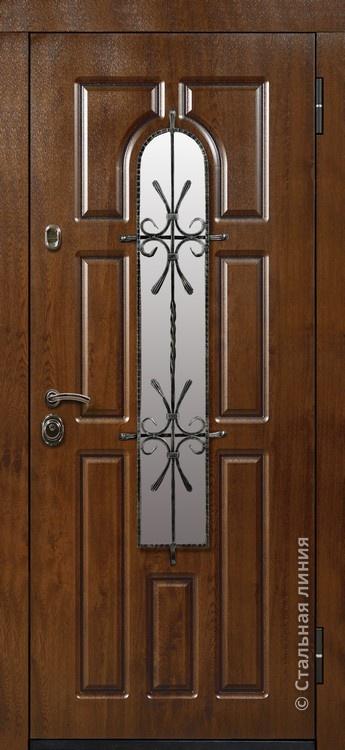 стандартные входные двери частных домов
