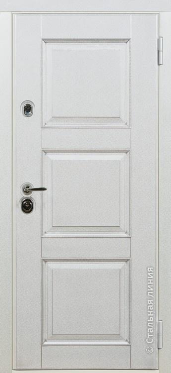 дверь стальная белая цена