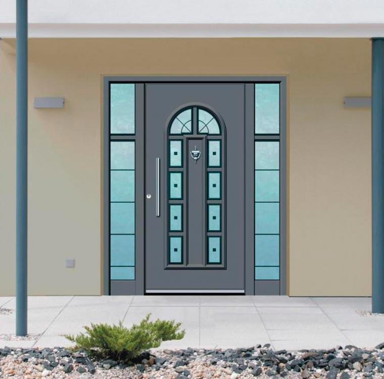 двери наружные металлические дачные